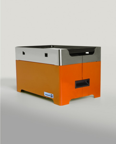 Pellet Tischgrill Granuli orange