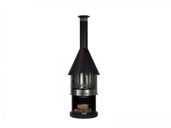Grill und Gartenkamin Prestige 70 GL schwarz